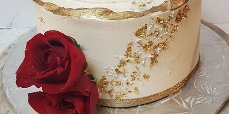 Beginner Cake Decorating with Buttercream & Fresh Floral tickets