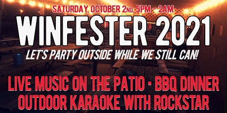 Winfester Fall Festival - Patio Party with BBQ, Live Music and Karaoke! tickets