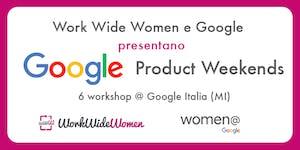 Google Product Weekends - Workshop Google Adwords