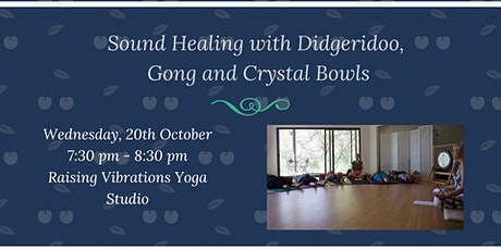 Sound Healing with Didgeridoo, Gong and Crystal Bowls tickets