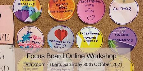 Focus Board Online Workshop tickets