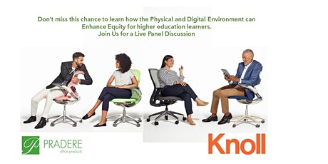 Enhanced Physical & Digital Environments = More Equitable Learning Spaces tickets