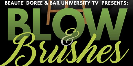 Blow & Brushes Paint Sip Extravaganza tickets