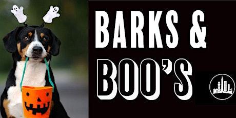 Barks & Boo's tickets