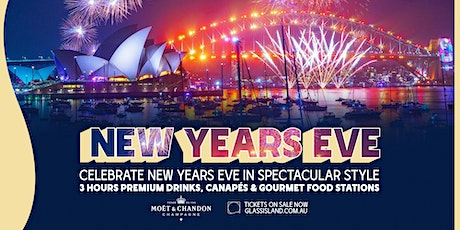 GLASS ISLAND - NEW YEAR'S EVE CRUISE 2021 tickets