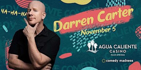 Darren Carter Headlines Agua Caliente Casino Caliente Comedy Nights tickets