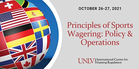 Principles of Sports Wagering: Policy & Operations tickets