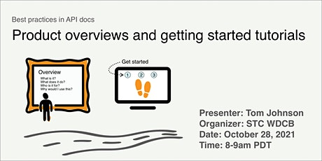Best practices in API docs: Product overviews and getting started tutorials tickets