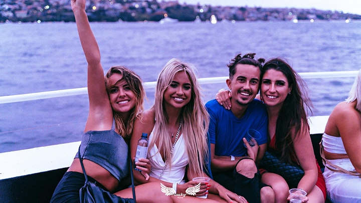 """Boat Party // Lucky Presents """"WE RISE"""" - Day & Night image"""