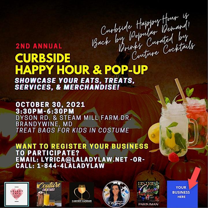 Curbside Happy Hour & Pop Up Shop image
