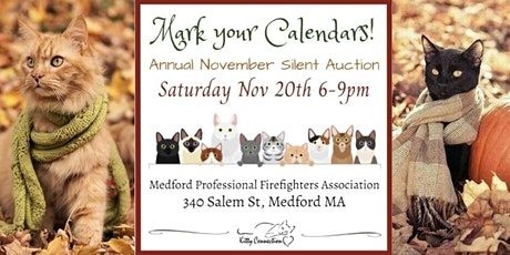 2021 Kitty Connection Annual Silent Auction and Lasagna Dinner tickets