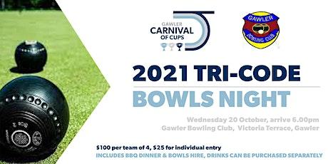 GCOC Tri-Code Bowls Night tickets