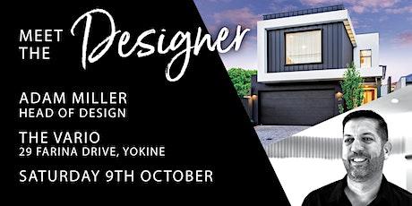 Meet the Designer tickets