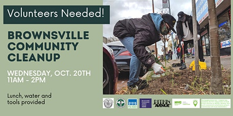 Help Us Make Brownsville Shine! Fall Community Cleanup tickets