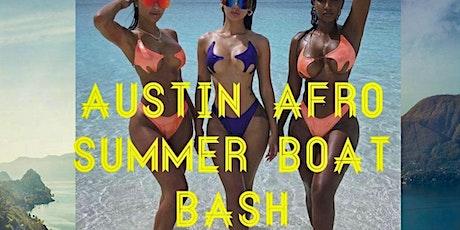 Austin Afro Summer Boat Bash tickets