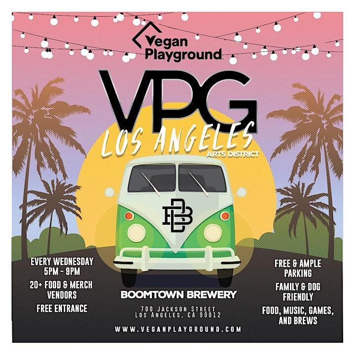 Vegan Playground LA Arts District - Boomtown Brewery - October 6, 2021 image