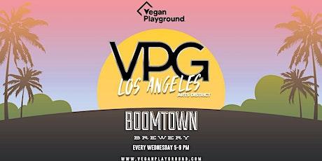 Vegan Playground LA Arts District - Boomtown Brewery - October 27, 2021 tickets