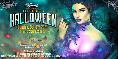 French Tuesdays Celebrates Halloween tickets