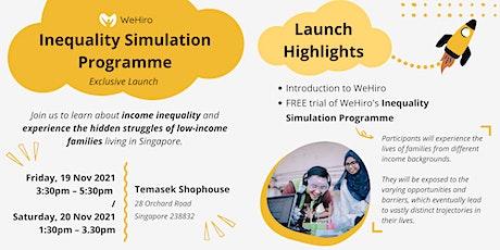 WeHiro Social Impact Showcase 2021 tickets