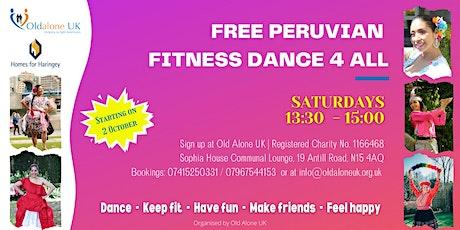 FREE Peruvian Dance Workshop for older people tickets