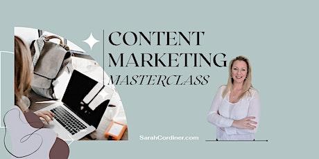 Content Marketing Masterclass - PERTH tickets