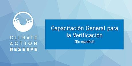 Capacitación General para la Verificación (En español) tickets
