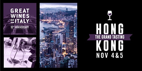 Great Wines of Italy  Hong Kong 2021 - The Grand Tasting tickets