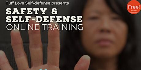 Fierce & Fit: Online Girls and Women's  Self-defense Class - OCT 2021 tickets