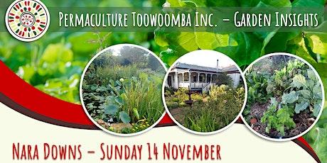 Garden Insights Visit - Nara Downs tickets