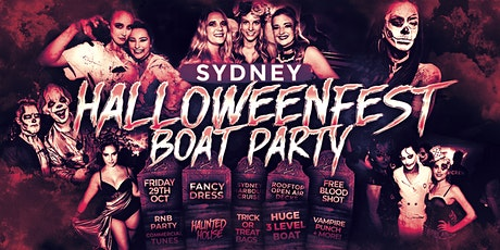 Halloweenfest Boat Party 2021 tickets