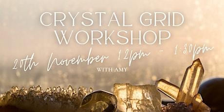 Crystal Grid Workshop tickets