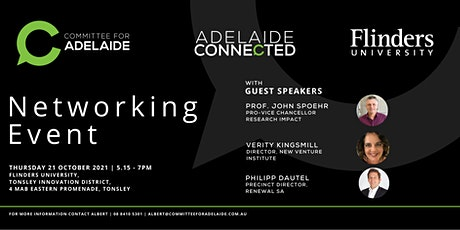 Networking event at Flinders University, Tonsley Innovation District tickets