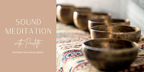 Sound Meditation with Paulette tickets