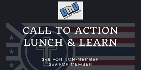 Call To Action Lunch and Learn tickets