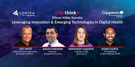 Leveraging Innovation and Emerging Technologies in Digital Health tickets