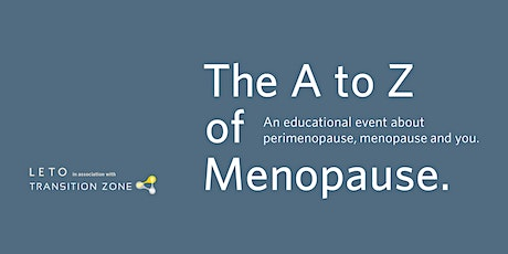 The A to Z of Menopause tickets