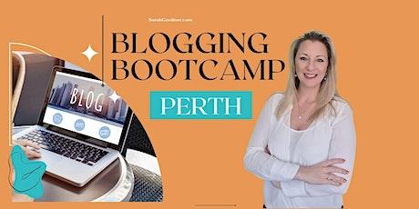 Blogging Bootcamp - PERTH tickets