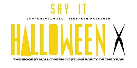Saturday October 30th #HushSaturdays presents HalloweenX • COSTUME PARTY! tickets