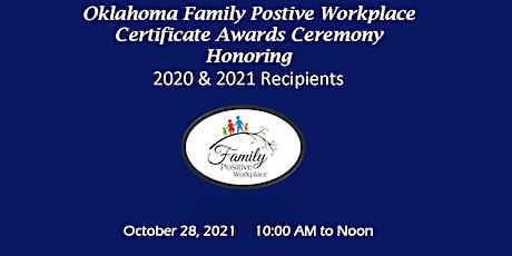 OK Family Positive Workplace  Virtual Awards  Ceremony tickets