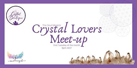Crystal Lovers Meet-Up - November tickets