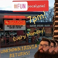 Unknown Trivia at The Barton Springs Saloon. tickets