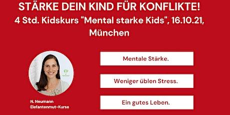 "Mobbingprävention ""Mental starke Kids"" Tickets"