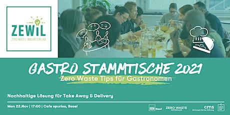Zero Waste Gastro Stammtisch # 3 - Zero Waste Angebote & Lieferanten billets