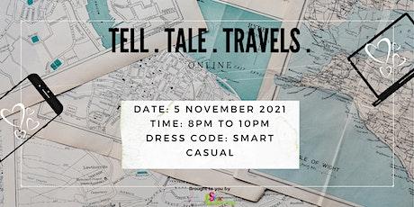 Tell Tale Travels (Online) tickets