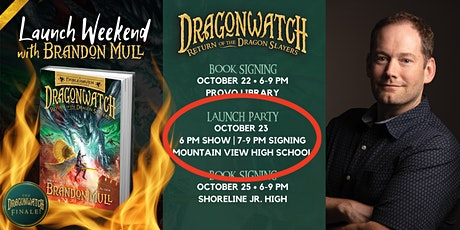 FINALE LAUNCH PARTY EVENT w/ BRANDON MULL @ MOUNTAIN VIEW HIGH SCHOOL tickets