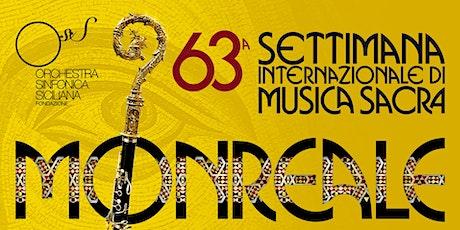 Accordatura o scordatura 63^ Settimana musica sacra Monreale biglietti