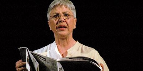 """Ottavia Piccolo in """"Donna non rieducabile"""" biglietti"""