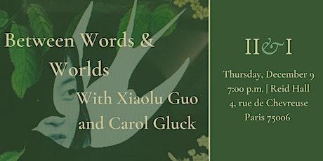 Between Words & Worlds billets