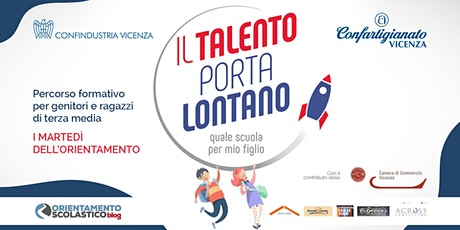 """IL TALENTO PORTA LONTANO - WEBINAR """"Competenze per il futuro"""" biglietti"""