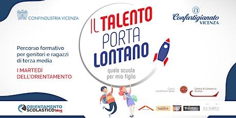 """IL TALENTO PORTA LONTANO - WEBINAR """"Orientami - Question time"""" biglietti"""